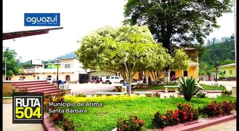 Ruta 504 - Municipio de Atima, Santa Bárbara