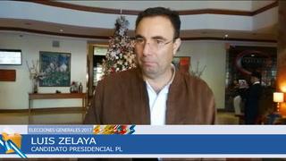 Luis Zelaya espera se garantice un verdadero conteo de votos