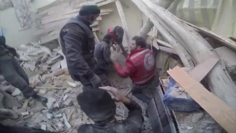 Más de 500 muertos en una semana de ataques contra Guta Oriental en Siria