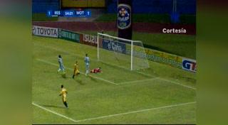 Gol de Edder Delgado al Motagua (Liga Nacional 2017)