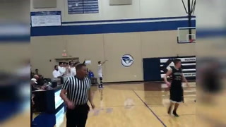 Injured Clever star hits 3-pointer on Senior Night
