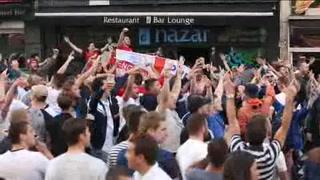 Peleas de fans en Eurocopa dejan 36 detenidos