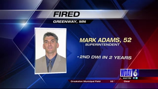 Former DL school superintendent Mark Adams lost his job in Greenway, Minn., due to his second DUI. SUBMITTED PHOTO