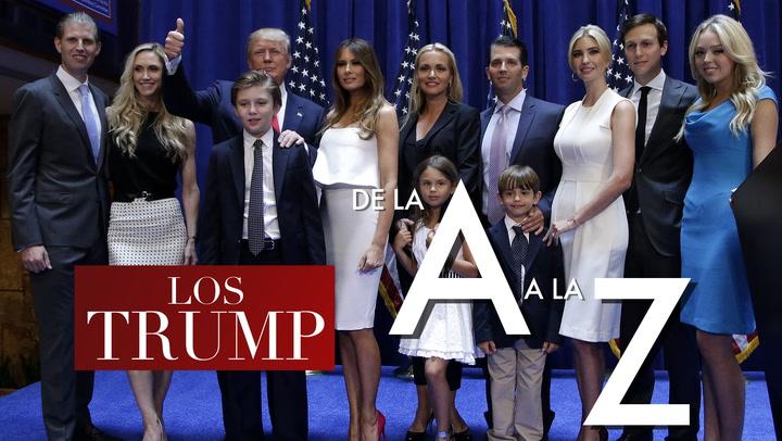 En vídeo: Los Trump de la A a la Z
