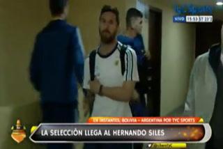 Pese a la sanción, Messi estuvo en la pérdida de Argentina ante Bolivia