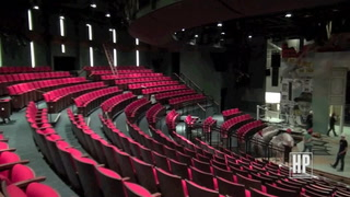 Inside the Renovated Alley Theatre