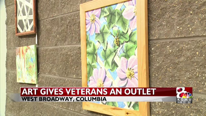 Art gallery gives Columbia veterans a way to express themselves