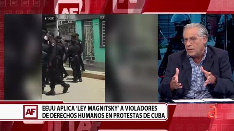 La lista de  funcionarios cubanos sancionados por Estados Unidos  bajo la Ley Magnitsky