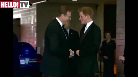 Prince Harry honours Wounded Warriors at the British Embassy in Washington