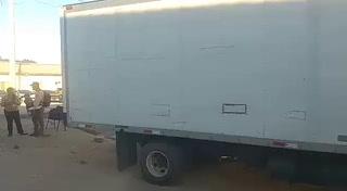 Decomisan 16 fardos de supuesta cocaína en un camión en Gualaco, Olancho