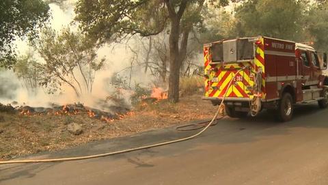 La propagación de los incendios de California se ralentiza