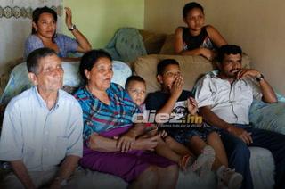 Abuelos del Choco Lozano no se perdieron detalle del Real Madrid Girona en el Bernabéu