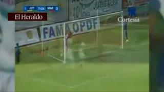 James Cabezas anota para Juticalpa 1- 0 ante Marathón
