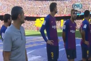 Jugadores del Barcelona fueron sorprendidos por hinchas del Boca Juniors
