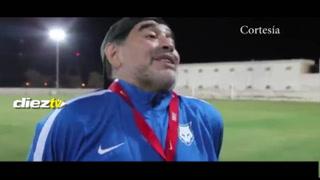 Maradona se burla de Cristiano: