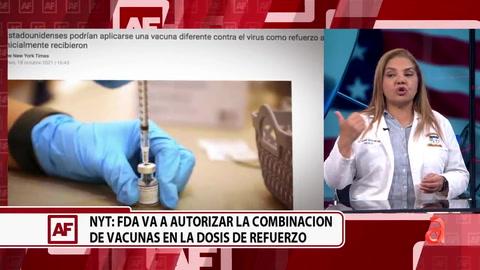 ¿Es recomendable combinar vacunas? Especialista responde
