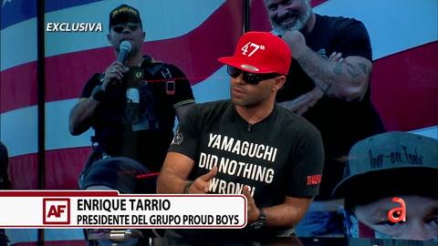 Entrevista EXCLUSIVA con Enrique Tarrio líder del grupo Proud Boys