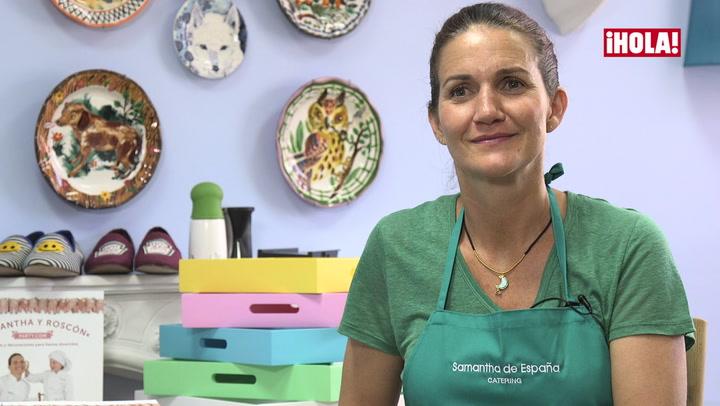 Clase de cocina con Samantha Vallejo-Nágera