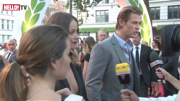 Chris Hemsworth on what it was like to play James Hunt in the film Rush