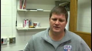 Maryville coach Matt Webb on Monett