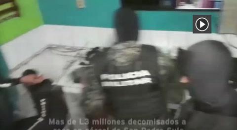 Mas de L3 millones decomisados a reos en cárcel de San Pedro Sula