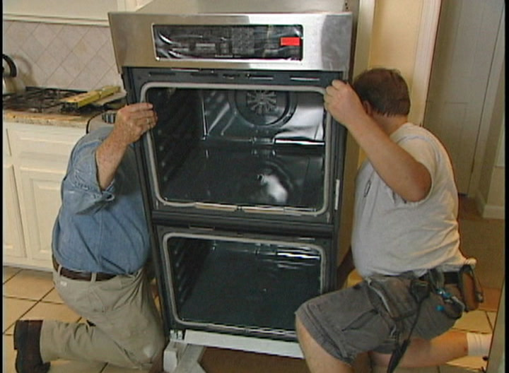 Akqe4obX 720 how to install an electric wall oven \u2022 diy projects & videos