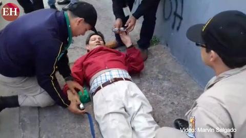 Accidente deja una persona herida frente al TSE