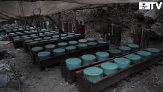 Hallan megalaboratorio del  cártel de Sinaloa