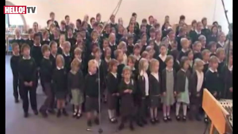 The children of Bucklebury\'s musical tribute to the royal couple