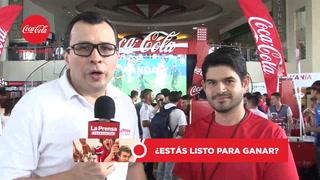 Sampedranos disfrutan con la futbolmanía Coca Cola
