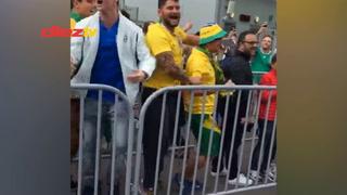 Brasileños se burlan de Argentina y dedican cántico en Rusia