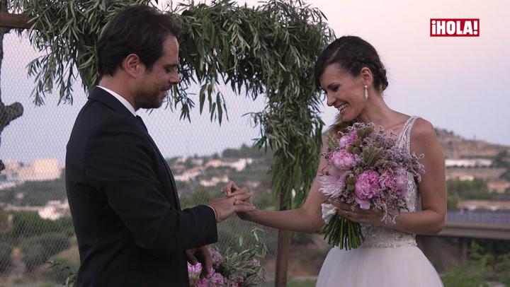 De las lágrimas de los novios a la diversión de la fiesta: la boda de Elena Ballesteros, en vídeo