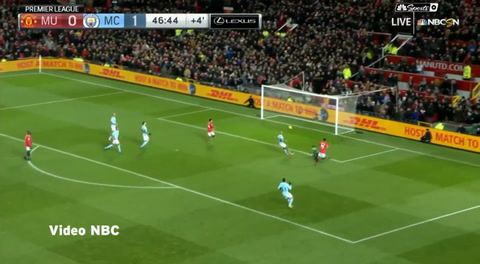 Manchester United 1-2 Manchester City (Premier League 2017)