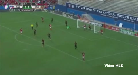 El golazo de Maynor Figueroa ante Houston Dynamo en la MLS