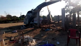 Trece muertos en accidente de helicóptero de gobierno en México