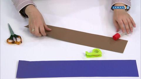 [KAĞIT HELVA] - Kağıttan Sümbül yapımı