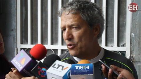 Carlos Restrepo habla del clásico entre Olimpia vs Motagua
