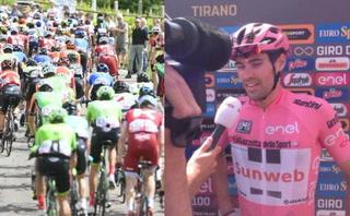 ¡VER PARA CREER! Ciclista holandés sufre percance y se pone a defecar en plena competencia