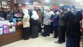 Cizre'de vatandaşlar marketlere akın etti