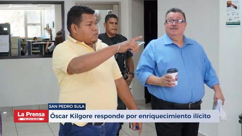 Óscar Kilgore responde por enriquecimiento ilícito