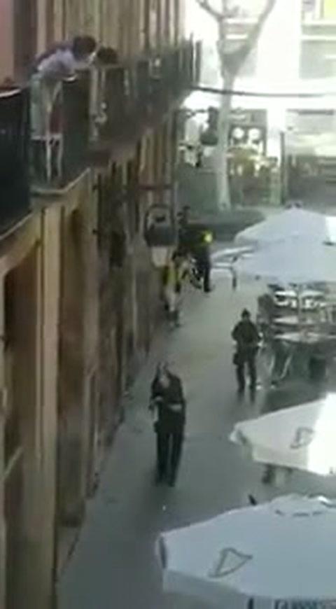 Arrestan a 2 personas por ataque terrorista en Barcelona