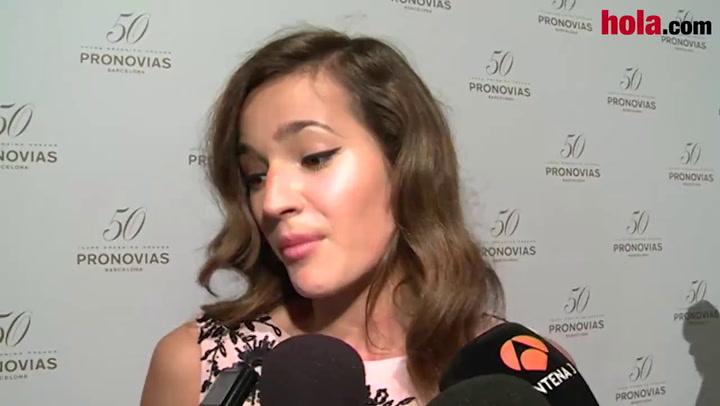 Malena Costa: \'Espero casarme pronto. Estoy bien con Mario y muy feliz\'