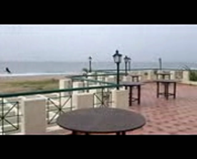 Pondicherry Videos-Panoramic view from St. James Court Beach Resort