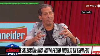 Pedro Troglio llora tras mensaje de su madre y recuerda su enfado monumental en Honduras