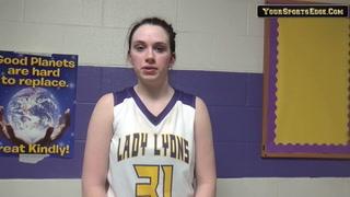 Holloman on Lady Lyons Win Over UHA