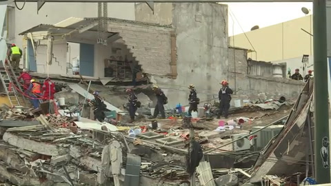 Rescates en Ciudad de México suspendidos por nuevo sismo