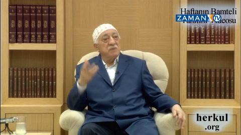 Fethullah Gülen Hocaefendi'nin son sohbetinin bir kısmı yayınlandı