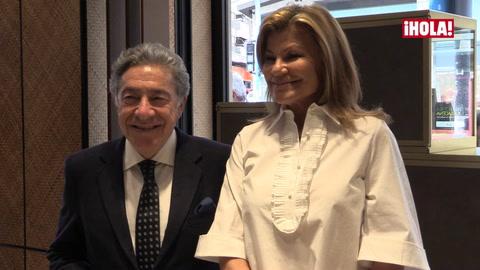Alessandra de Osma acude a la inauguración de la nueva boutique Suárez de Alicante