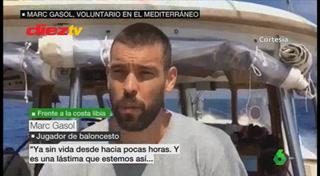 Estrella de la NBA ayuda en dramático rescate de inmigrante abandonada en el Mediterráneo