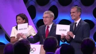 Confirman a París 2024 y Los Ángeles 2028 como sedes Olímpicas